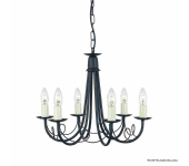 Elstead Lighting Minster MN6 BLACK