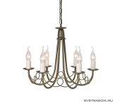 Elstead Lighting Minster MN6 BLK/GOLD