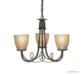 Elstead Lighting Minster MN3 BLK/GOLD + 3x GS54