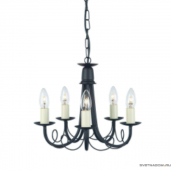 Elstead Lighting Minster MN5 BLACK