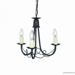 Elstead Lighting Minster MN3 BLACK